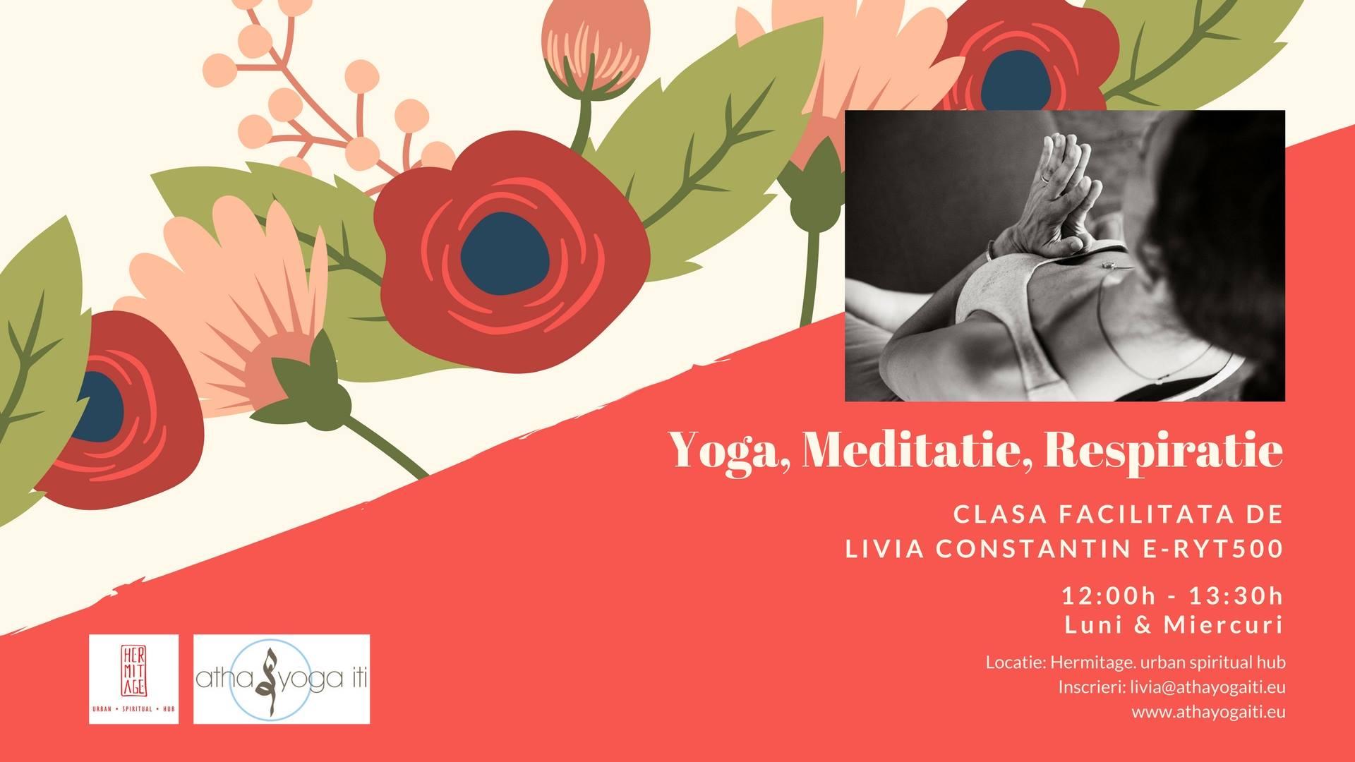 Yoga, Meditation and Breathing